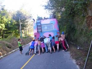 Bus schieben