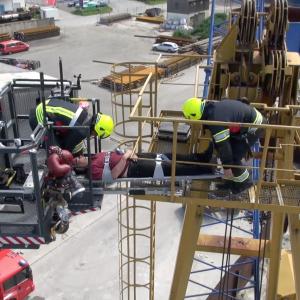 lehrfilm: Einsatzgrundsätze mit Hubrettungsfahrzeugen