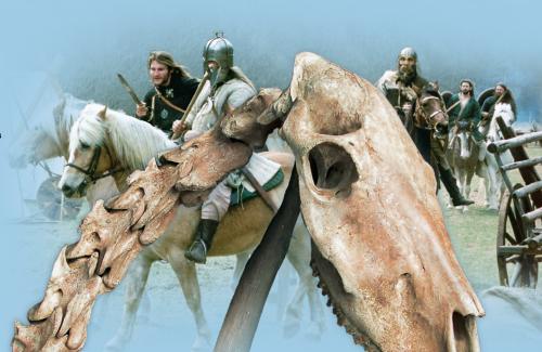 Pferdeopfer Reiterkrieger